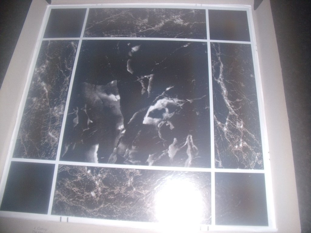 Gloss finish vinyl floor tiles self adhesive 305mm x 305mm marble gloss finish vinyl floor tiles self adhesive 305mm x 305mm marble effect tjtiles dailygadgetfo Images
