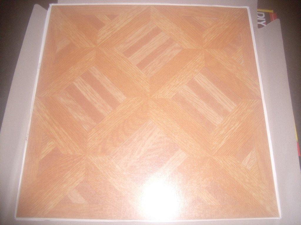 Gloss Finish Vinyl Floor Tiles Self Adhesive 305mm X